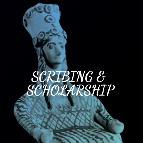 SCRIBING AND SCHOLARSHIP